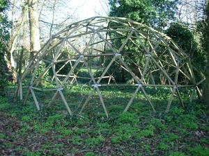 Geodesic Dome in my back garden