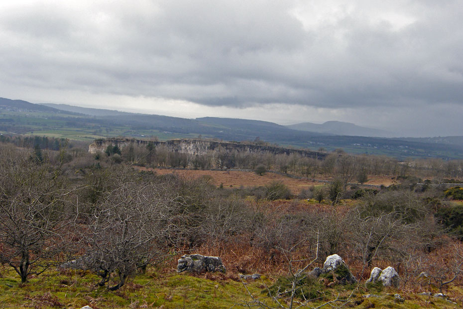 A Look Back And You Can See The Top Of What Is Holme Park Quarry Arnside Knott In Distance Theres Shower Heading Our Way