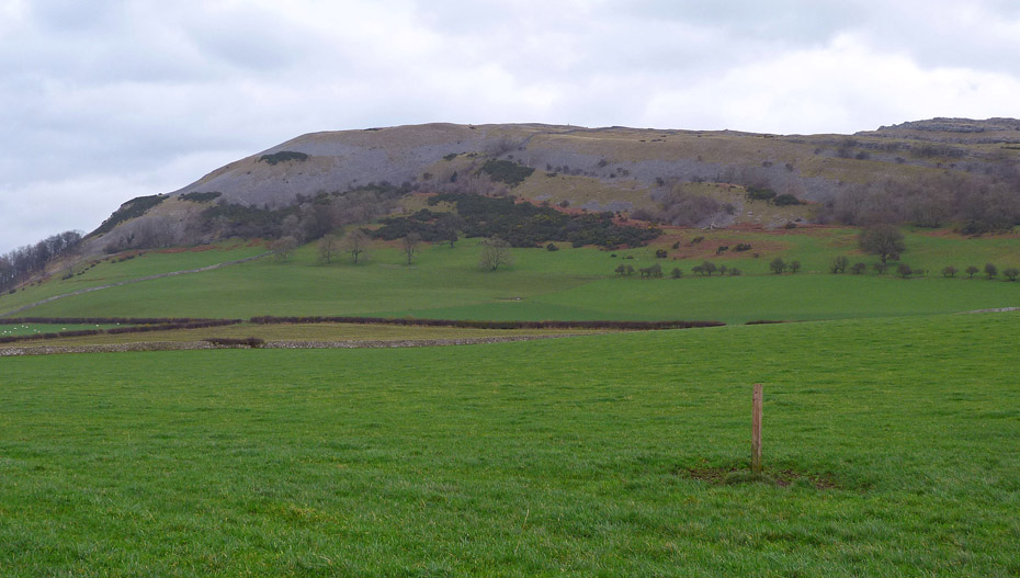 Farleton Knott From The Road As We Make Our Way Towards Holme Park Farm